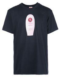 メンズ Supreme Super Cream Tシャツ Blue
