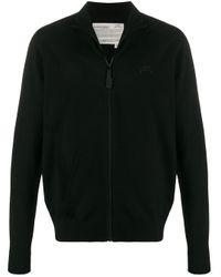 Maglione con ricamo di A_COLD_WALL* in Black da Uomo