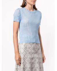 T-shirt Lola Georgia Alice en coloris Blue