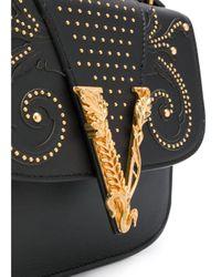 Sac cabas Virtus Western Dual Versace en coloris Black