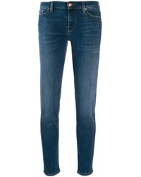 7 For All Mankind スリムジーンズ Blue