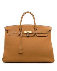 Сумка Birkin 40 2005-го Года Hermès, цвет: Brown