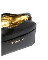 Tommy Hilfiger Black Iconic Logo Cross-body Bag
