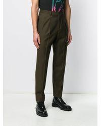 Pantaloni affusolati di PS by Paul Smith in Green da Uomo