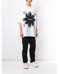 Undercover White Graphic Print T-shirt for men