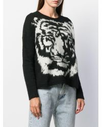 Pull Tiger Liu Jo en coloris Black