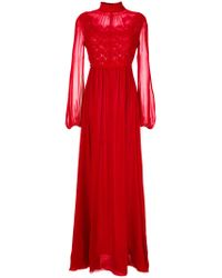 Giambattista Valli Romantic Embroidered Gown