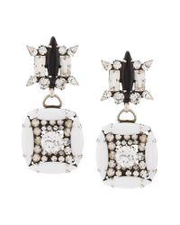 DANNIJO - Metallic Wilhelmjna Earrings - Lyst