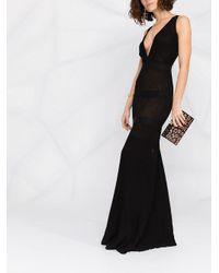 Платье В Рубчик Elisabetta Franchi, цвет: Black