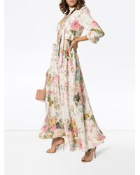 Vestido largo Heather Zimmermann de color Multicolor
