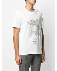 Brioni 'Carlo Stanga' T-Shirt in White für Herren