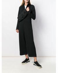 Y-3 ジップアップ ジャンプスーツ Black