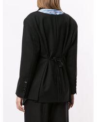 Enfold スリムフィット ジャケット Black