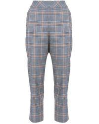 Pantaloni da abito affusolati di Dice Kayek in Blue