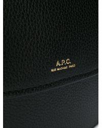 A.P.C. Geneve ショルダーバッグ Black