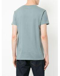 メンズ Kent & Curwen ロゴプリント Tシャツ Blue