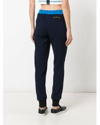 Mr & Mrs Italy Blue Track Trousers
