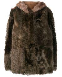 Liska リバーシブル コート Multicolor