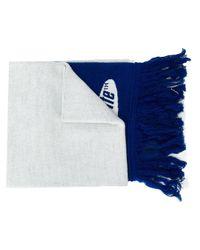 Écharpe à logo Off-White c/o Virgil Abloh pour homme en coloris Blue