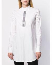 Philipp Plein ビジューシャツ White