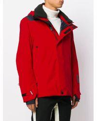3 MONCLER GRENOBLE Red Padded Coat for men
