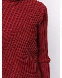 Y's Yohji Yamamoto リブニット セーター Red
