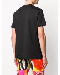 T-shirt con stampa di Iceberg in Black da Uomo