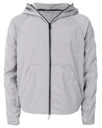 Emporio Armani Green Waterproof Zipped Jacket for men
