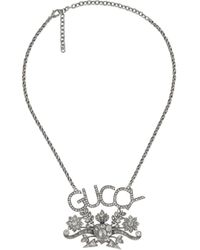 Gucci Guccy ペンダント ネックレス Metallic