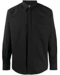 メンズ Cobra S.C. Removable Collar Shirt Black