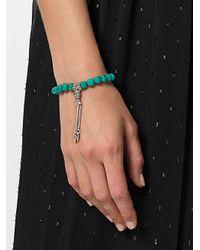 Monan - Green Beaded Bracelet - Lyst
