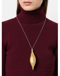 Balenciaga - Metallic Collana 'december' - Lyst