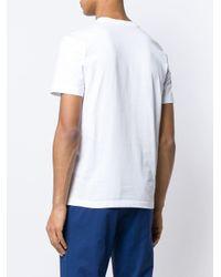 メンズ Lardini プリント Tシャツ White