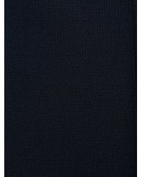 Prada Blue Techno Waist Detail Trousers for men