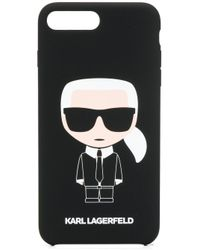 Karl Lagerfeld Karl Ikonik Iphone 8+ ケース Black