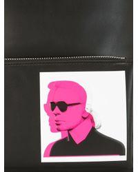 Karl Lagerfeld バックパック Black