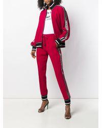 Спортивные Брюки С Лампасами В Полоску Dolce & Gabbana, цвет: Red