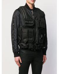 Philipp Plein Cargo Jas in het Black voor heren