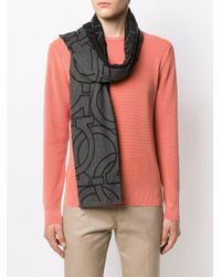 Écharpe Gancini Ferragamo pour homme en coloris Gray
