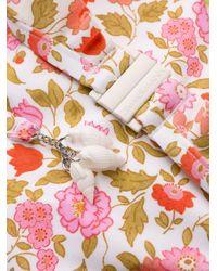 Zimmermann White Coral Blossom Bikini