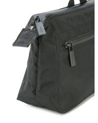 Ally Capellino Black Travel Washbag for men