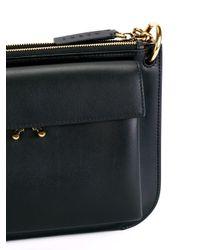 Marni Black Pocket Shoulder Bag