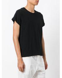 Ann Demeulemeester Black Classic T-shirt for men