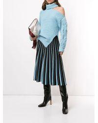Jonathan Simkhai ワンショルダー セーター Blue