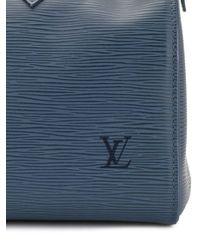 Louis Vuitton Blue 2006 Speedy 25 Handbag
