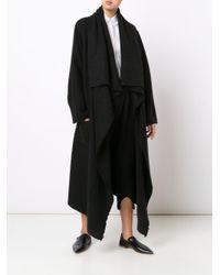 Denis Colomb - Black Long Redingote Coat - Lyst