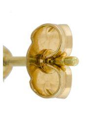 Wouters & Hendrix - White 18kt Yellow Gold Pearl Stud Earrings - Lyst