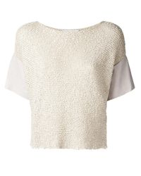 Fabiana Filippi - Multicolor Knitted Top - Lyst