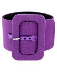 Attico Purple Belt-style Anklet
