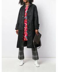 Cappotto con colletto alla francese di Marni in Black